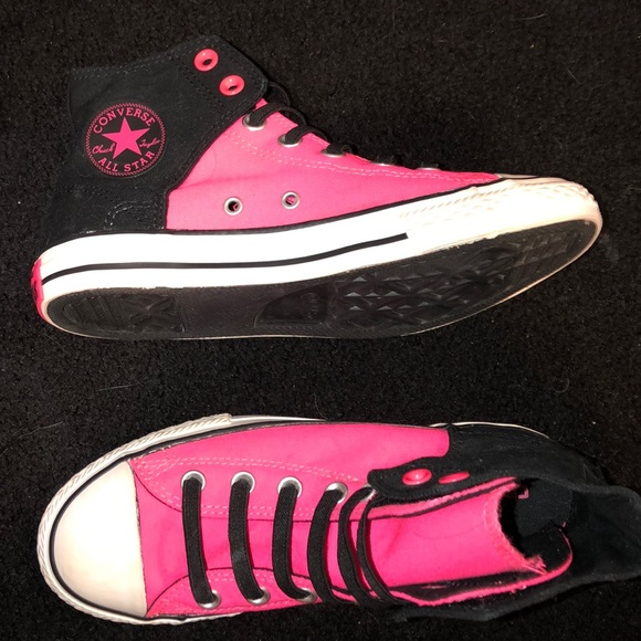 Converse Shoes   Pink High Top Converse